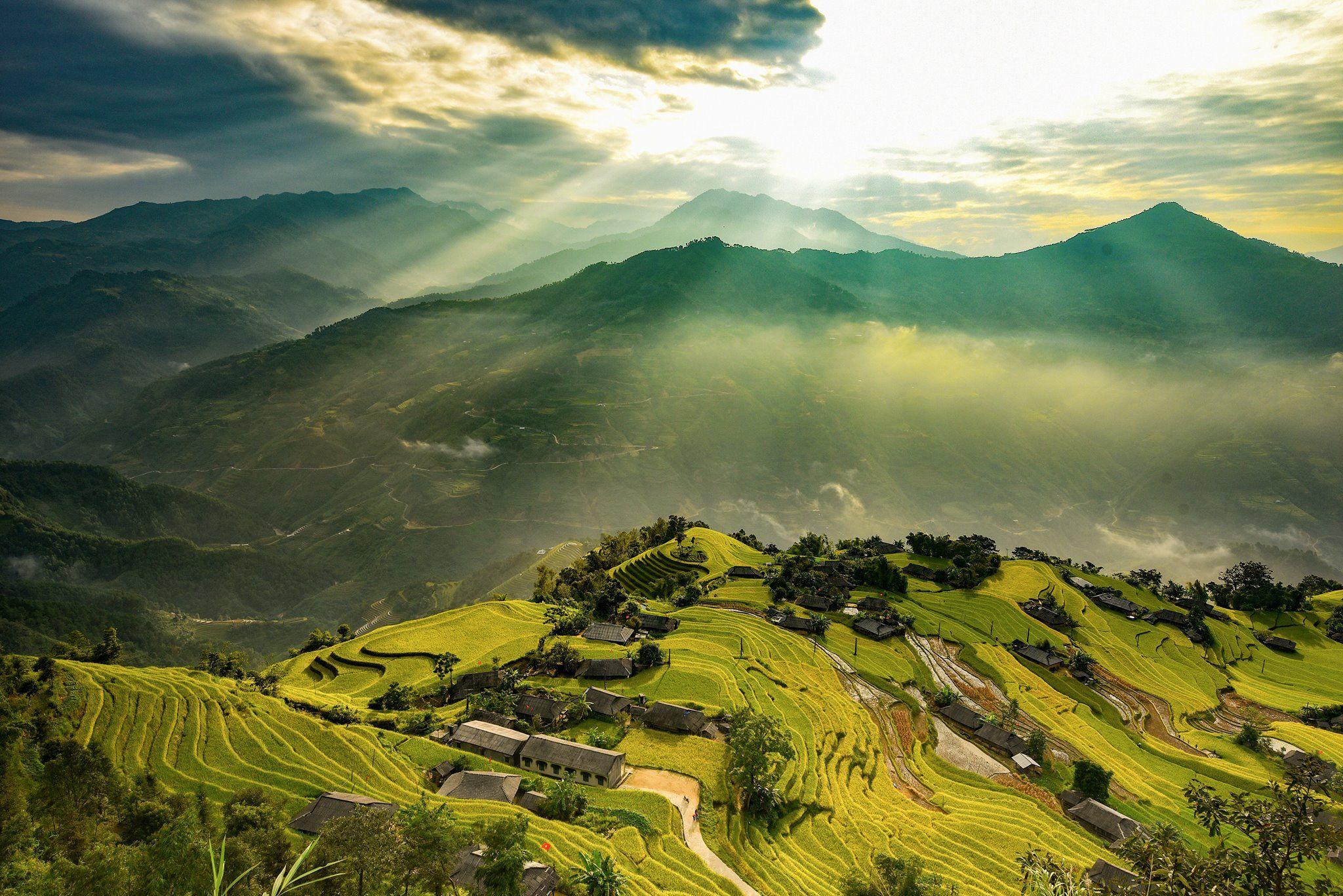 Hoang Su Phi terrace