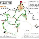 Ha Giang loop map